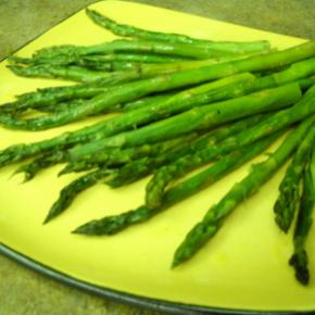 Roasted Asparagus @EclecticEveryday
