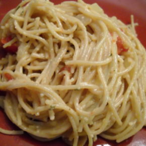 Southern Spaghetti Carbonara @EclecticEveryday