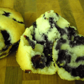 Blueberry Muffins @EclecticEveryday