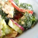 Broccoli Salad @EclecticEveryday