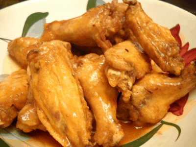 Buffalo Chicken Wings by EclecticRecipes.com #recipe