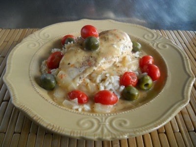 Chicken Marengo by EclecticRecipes.com #recipe