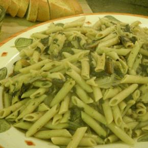 Chicken Marsala Pasta @EclecticEveryday