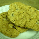 Dark Chocolate Chip Oatmeal Cookies by EclecticRecipes.com #recipe