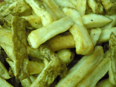 Homemade French Fries by EclecticRecipes.com #recipe