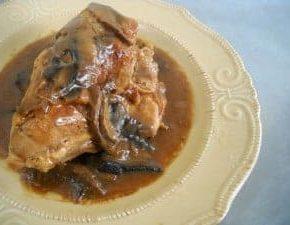 Chicken Marsala @EclecticEveryday
