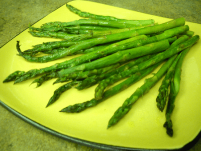 Roasted Asparagus by EclecticRecipes.com #recipe