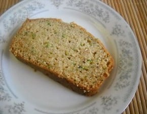 Zucchini Bread @EclecticEveryday