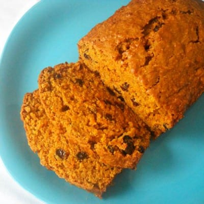 Carrot Raisin Bread by EclecticRecipes.com #recipe