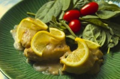 Chicken Piccata by EclecticRecipes.com #recipe