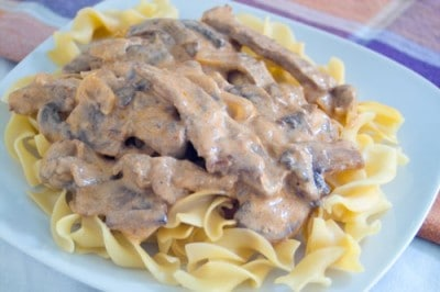 Beef Stroganoff by EclecticRecipes.com #recipe