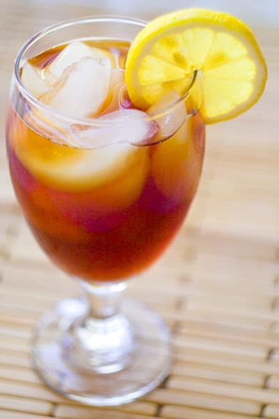 Southern Sweet Ice Tea @EclecticEveryday