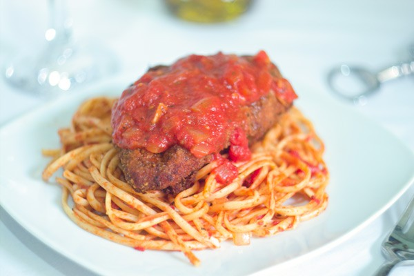 Chicken Parmesan by EclecticRecipes.com #recipe