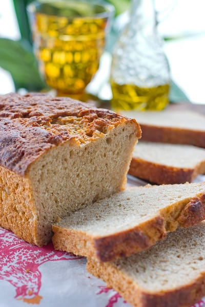 Whole Wheat Bread with Hemp Seeds by EclecticRecipes.com #recipe
