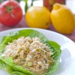 Garden Tuna Salad with Olives @EclecticEveryday