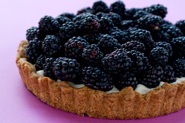 Blackberry Tart  by EclecticRecipes.com #recipe