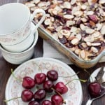 Cherry Clafouti @EclecticEveryday