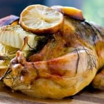 Fennel, Lemon and Thyme Roasted Chicken @EclecticEveryday