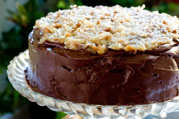 German Chocolate Cake by EclecticRecipes.com #recipe
