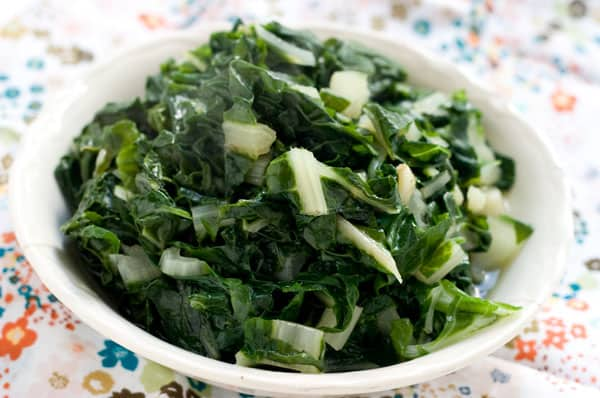 Swiss Chard Recipe by EclecticRecipes.com #recipe
