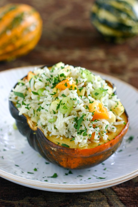 Eclectic Everyday » Stuffed Acorn Squash