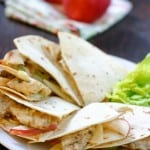 Chicken and Apple Quesadillas @EclecticEveryday