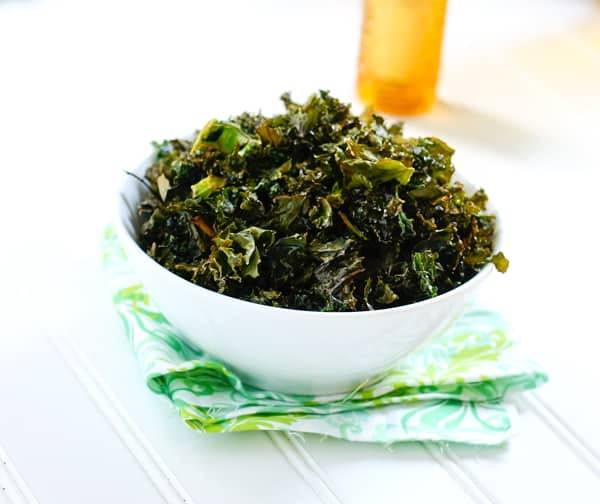 Kale Chips by EclecticRecipes.com #recipe