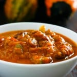 Pumpkin Chili by EclecticRecipes.com #recipe