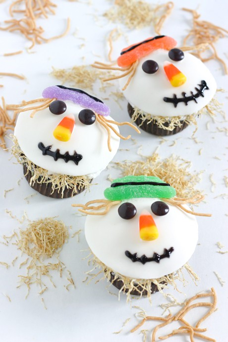 Witch Cupcakes by EclecticRecipes.com #recipe