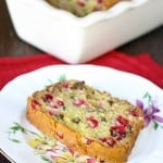 Cranberry Orange Walnut Bread @EclecticEveryday