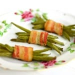 Bacon Wrapped Green Beans @EclecticEveryday