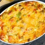Christmas Breakfast Casserole @EclecticEveryday
