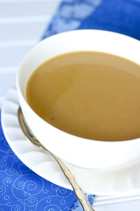 Chestnut Soup by EclecticRecipes.com #recipe
