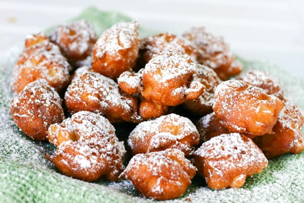 Apple Fritters by EclecticRecipes.com #recipe