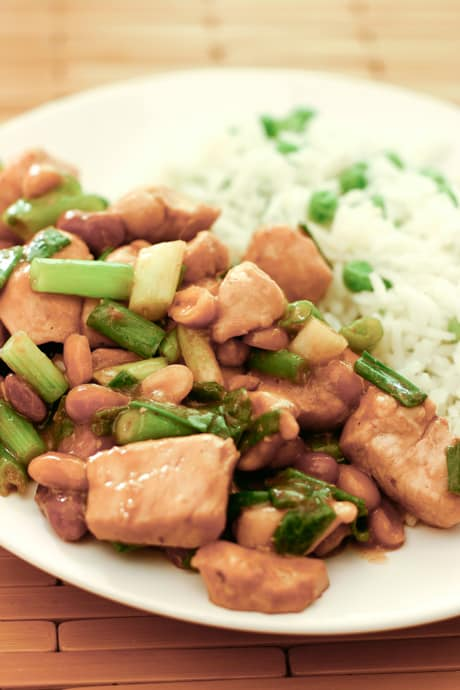 Kung Pao Chicken by EclecticRecipes.com #recipe