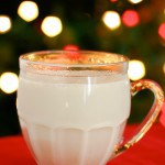 Warm Spiced Milk @EclecticEveryday
