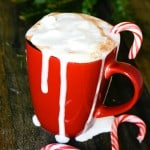 Santas favorite Hot Chocolate: Peppermint @EclecticEveryday