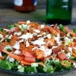 Buffalo Chicken Salad @EclecticEveryday
