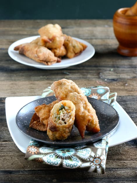 The Ultimate Egg Roll Recipe by EclecticRecipes.com #recipe