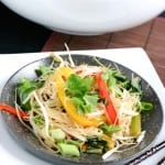 Stir Fry Rice Noodles @EclecticEveryday