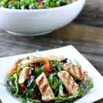 Oriental Chicken Salad by EclecticRecipes.com #recipe