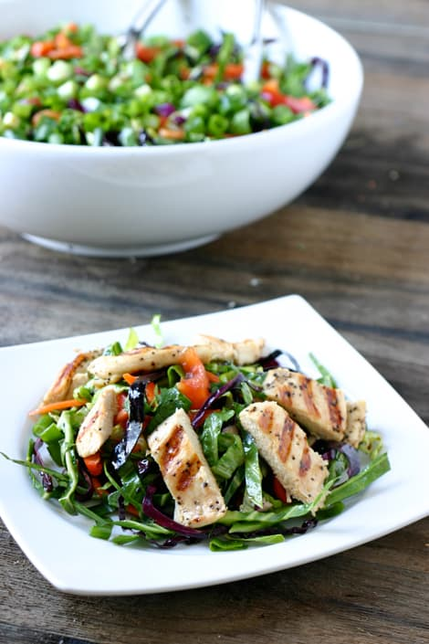 Oriental Chicken Salad @EclecticEveryday