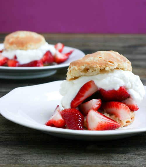 Strawberry Shortcake by EclecticRecipes.com #recipe