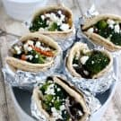 Sauteed Vegetable Gyros @EclecticEveryday