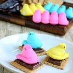 Peeps Smores for Easter by EclecticRecipes.com #recipe