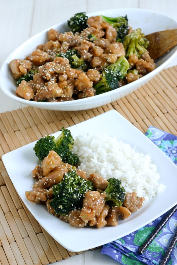 Sesame Chicken  by EclecticRecipes.com #recipe