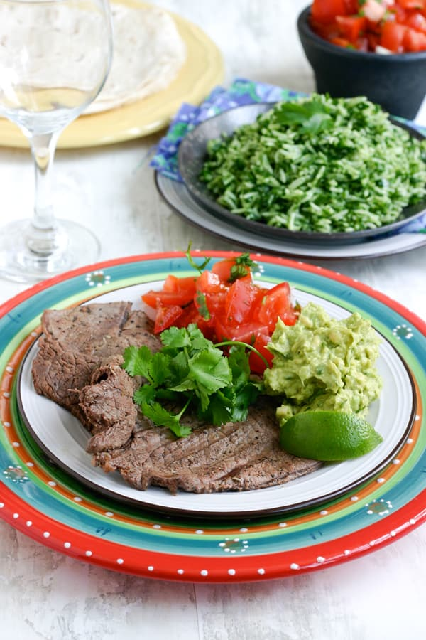 Margarita Marinated Grilled Steak by EclecticRecipes.com #recipe