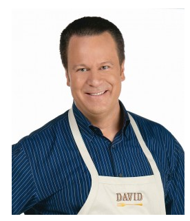 Interview with David Venable, host of QVCs In The Kitchen with David and a Giveaway by EclecticRecipes.com #recipe