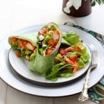Buffalo Chicken Wraps @EclecticEveryday