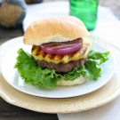 Teriyaki Burgers with Grilled Pineapple @EclecticEveryday